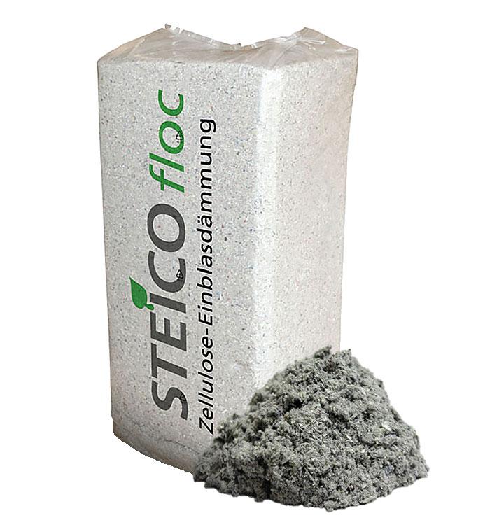Guata de celulosa SteicoFloc - AISLANTES DE BORRA